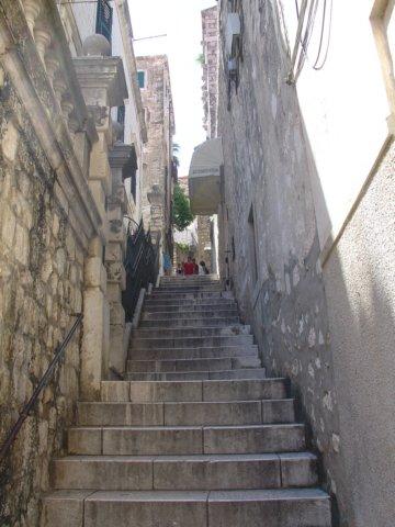 Kroatie foto dubrovnik trappen - Noordelijke deel ...